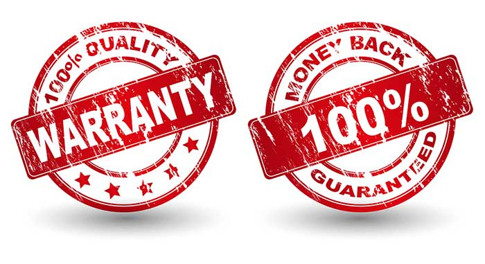 warranty vs guarantee Hunter douglas backs all products with a lifetime guarantee and a lifetime  limited warranty to ensure your satisfaction.