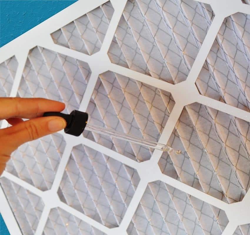 Using Essential Oils & A Furnace Filter: Keep Your Home