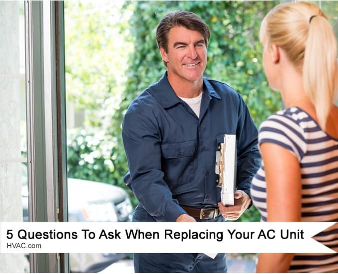 What To Ask Your Contractor: 5 Questions To Get Answered Before Replacing Your AC Unit