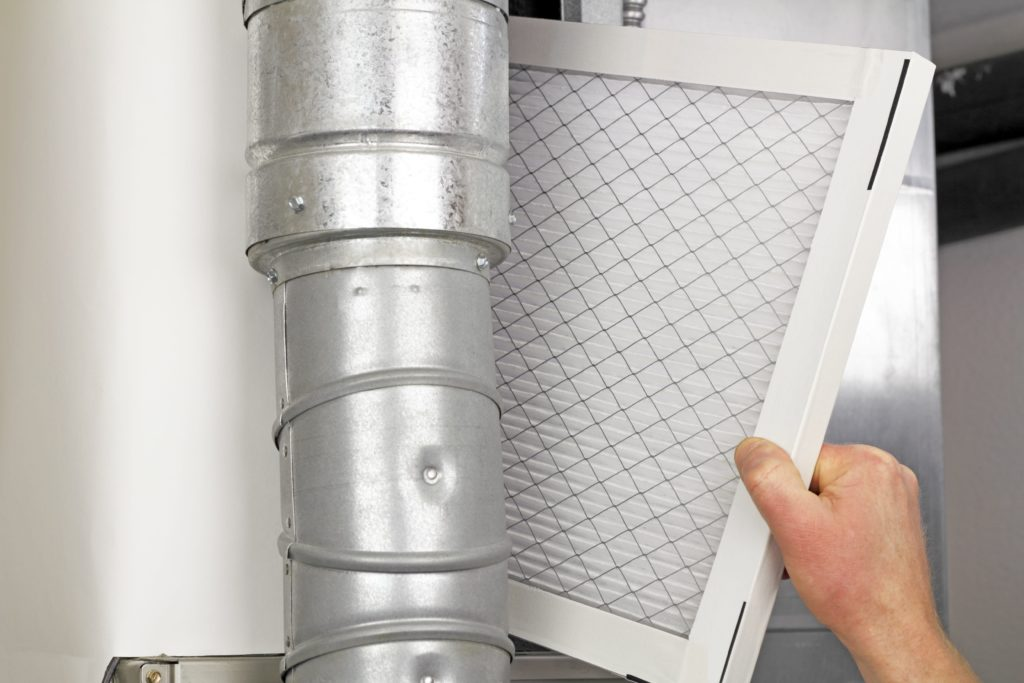 Replacing Furnace Filter