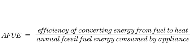 AFUE formula