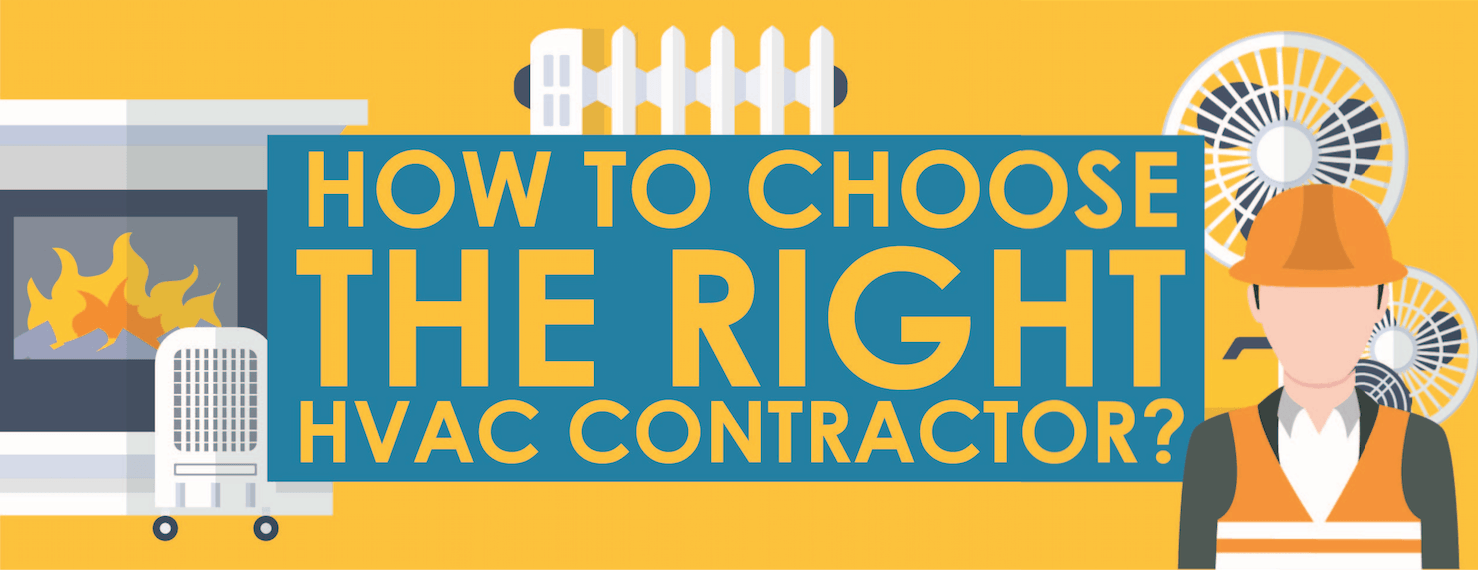 how to choose the right hvac contractor infographic. Black Bedroom Furniture Sets. Home Design Ideas