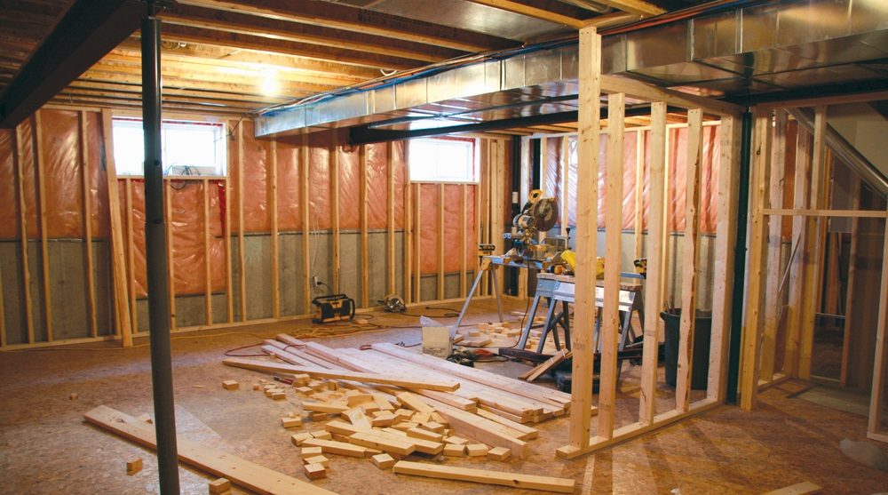 & Basement Finishing: Heating and Air Conditioning Considerations