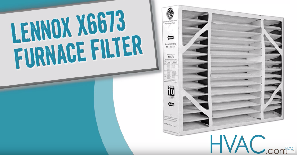 How To Find And Replace Your Lennox X6673 Furnace Filter