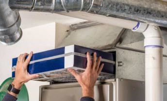 Remove Old Furnace Filter