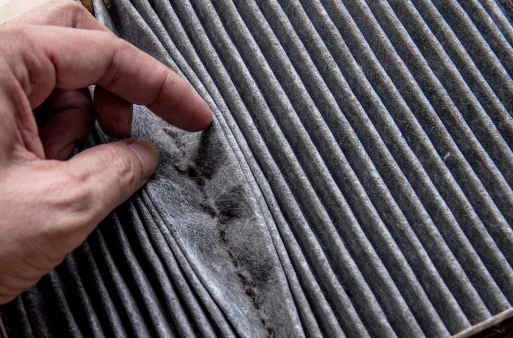 Replace Dirty Furnace Filter