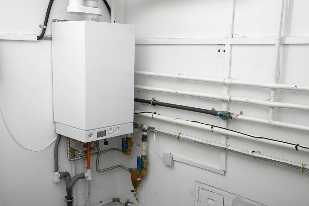 boiler in home